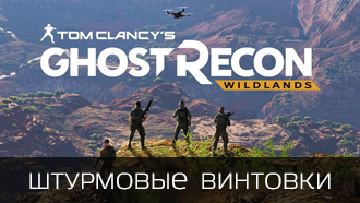 Оружие Tom Clancy's Ghost Recon: Wildlands - Винтовки