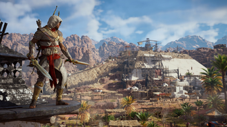 Тест Assassin's Creed Origins с Denuvo и без неё
