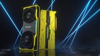 Nvidia представила видеокарту GeForce RTX 2080 Ti Cyberpunk 2077 Edition
