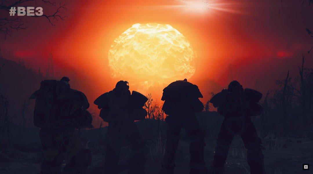 Три ядерные ракеты «ломают» сервер Fallout 76
