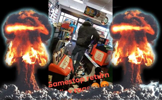 Бомбануло: Разъяренный игрок устроил погром в магазине